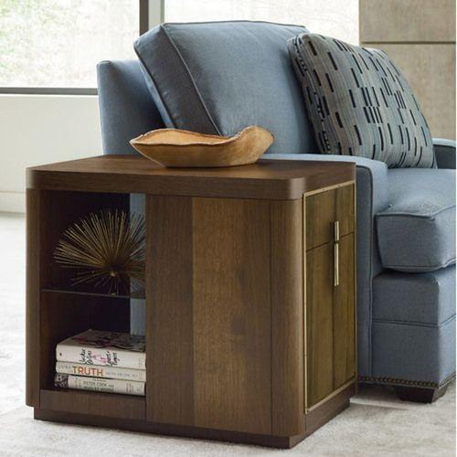 AD Modern Organics Kern Drawer End Table