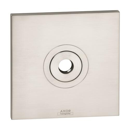 Brushed Nickel Wall plate square