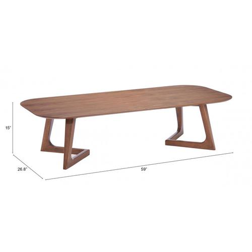 Park West Coffee Table Walnut