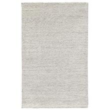 See Details - Heathered Wool Ivory 5x8