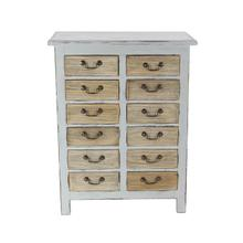 """WD 12 DRAWER CHEST 28""""W, 36""""H"""