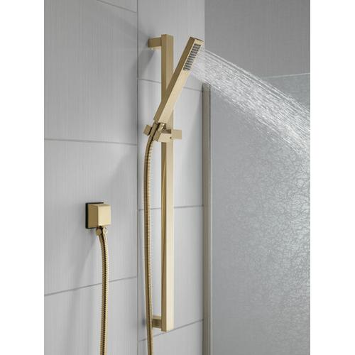 Champagne Bronze Premium Single-Setting Slide Bar Hand Shower