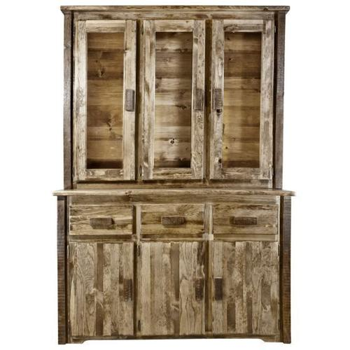 Montana Woodworks - Homestead Collection China Hutch, Stain and Lacquer Finish