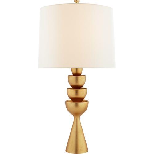 AERIN Veranna 31 inch 100 watt Gild Table Lamp Portable Light, Large