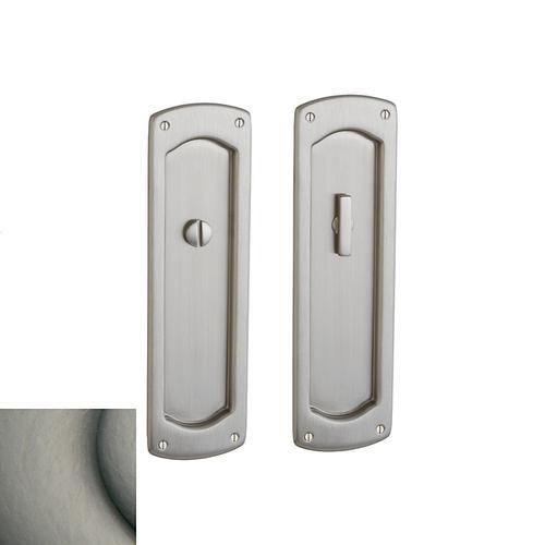 Baldwin - Antique Nickel PD007 Palo Alto Pocket Door