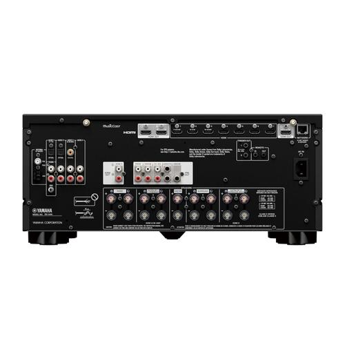 Yamaha - RX-A4ABL AVENTAGE 7.2-Channel AV Receiver with 8K HDMI and MusicCast