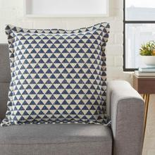 "Life Styles Dl569 Indigo 20"" X 20"" Throw Pillow"