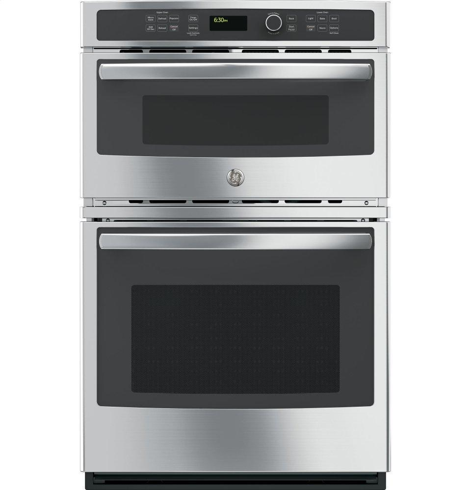 """GE27"""" Built-In Combination Microwave/thermal Wall Oven"""