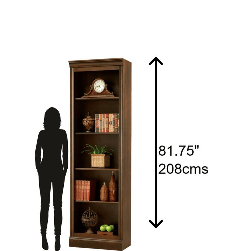 See Details - Howard Miller Oxford Bunching Bookcase 920005