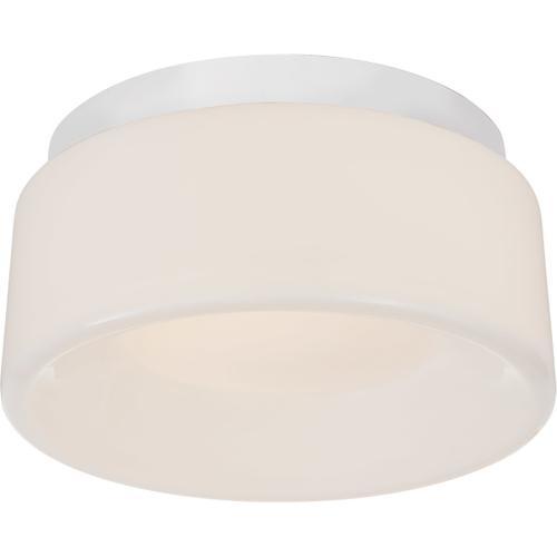 Visual Comfort - Barbara Barry Halo LED 6 inch Matte White Flush Mount Ceiling Light, Petite