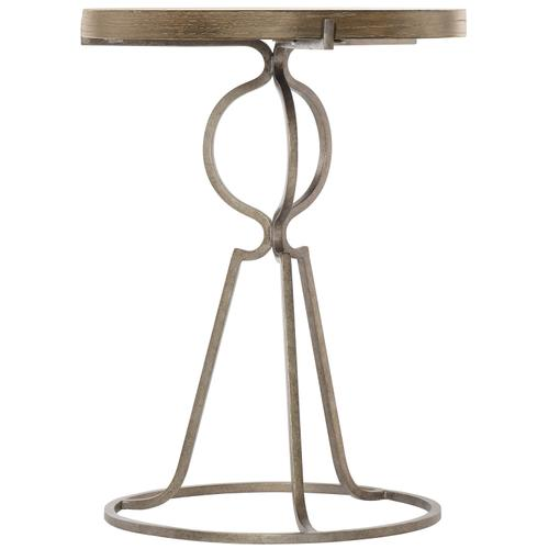 Rustic Patina Accent Table in Peppercorn (387)