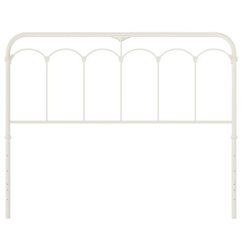 Jocelyn Metal Full Headboard or Footboard, Soft White