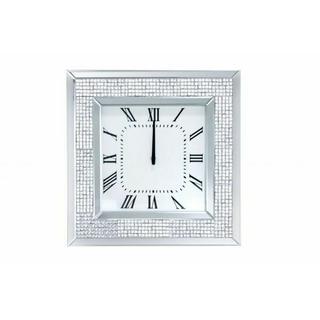 ACME Iama Wall Clock - 97396 - Mirrored