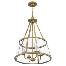 View Product - Barlow Pendant in Weathered Brass