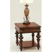 Rectangular End Table - Heritage Cherry Finish