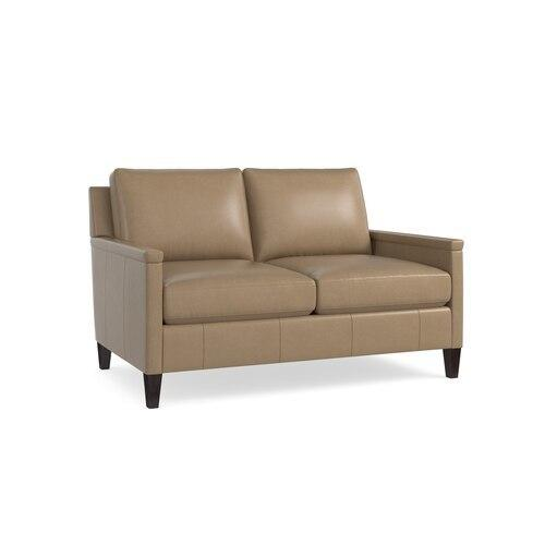 Miranda Leather Loveseat