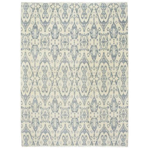 Gallery - Siam-Ikat Ivory Blue