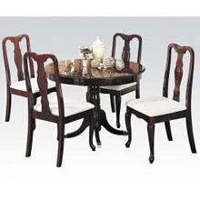 5pc Pk Dining Set (ped. Table)