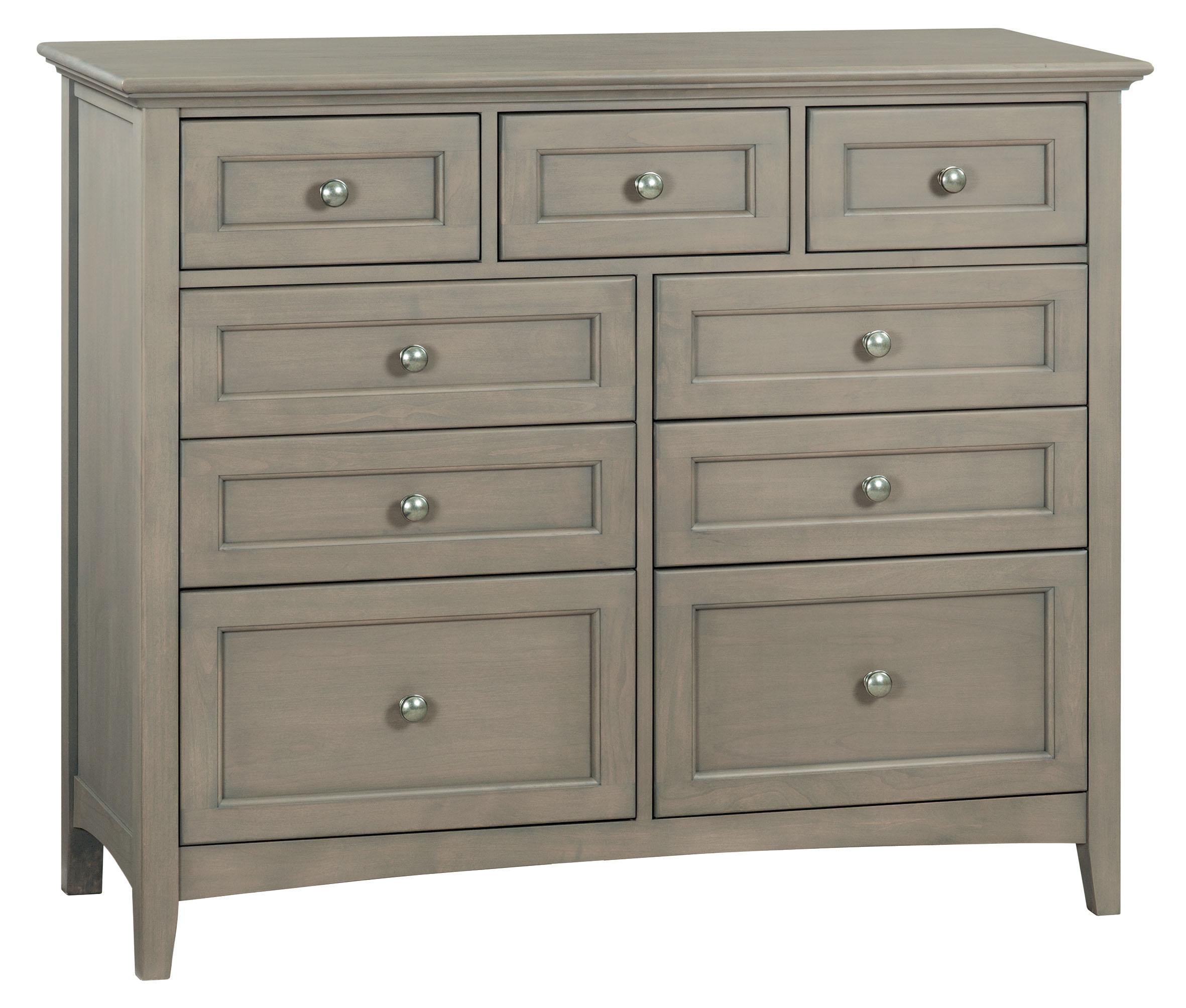 Whittier WoodFst 9-Drawer Mckenzie Dresser