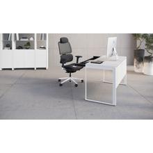 See Details - Linea 6221 Desk in Smooth Satin White