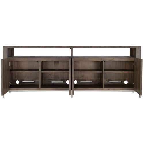 Eastman Entertainment Console in Sable Brown, Gray Mist