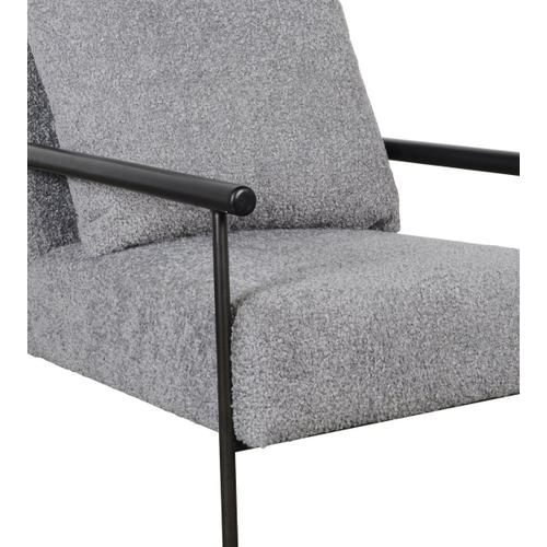 Classic Home - Cohen Accent Chair Soft Gray