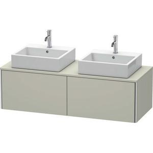Vanity Unit For Console Wall-mounted, Taupe Satin Matte (lacquer)