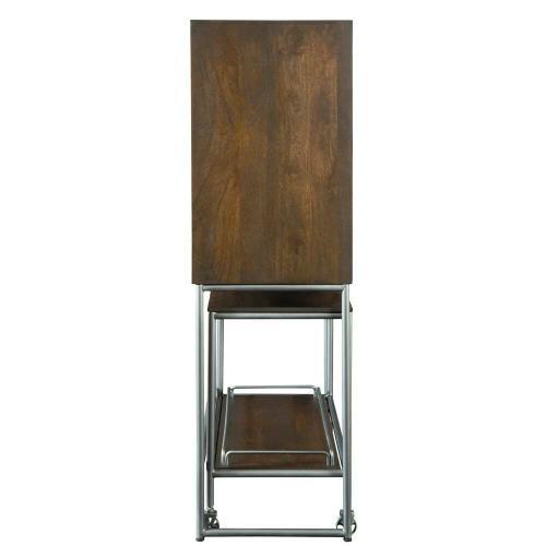 695-222 Bar Cart Wine & Bar Cabinet