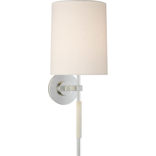 Visual Comfort - Barbara Barry Clout 1 Light 8 inch Soft Silver Tail Sconce Wall Light