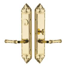 Lifetime Polished Brass Fenwick Entrance Trim