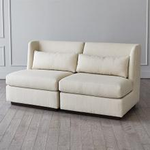 Alder Sectional Chair-Moonstone-Right Arm