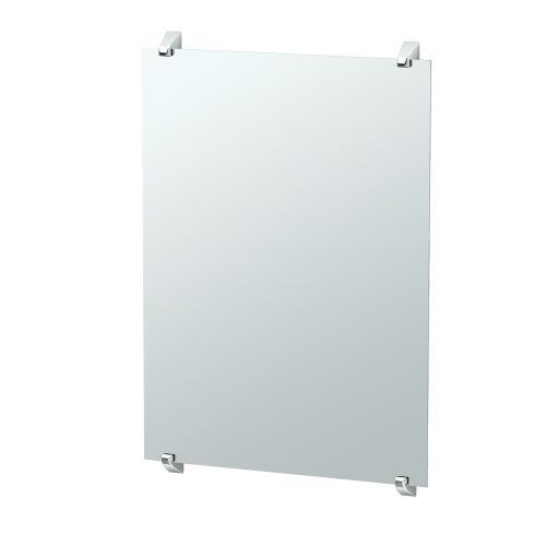 Quantra Fixed Mount Mirror in Chrome