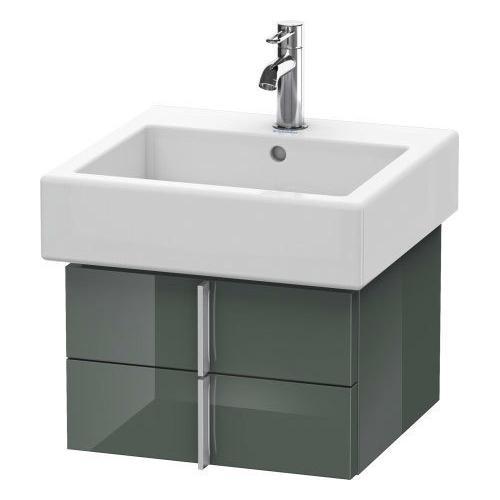 Duravit - Vanity Unit Wall-mounted, Dolomiti Gray High Gloss (lacquer)