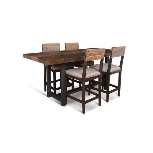 Horizon Home Furniture - Timberland Counter Set