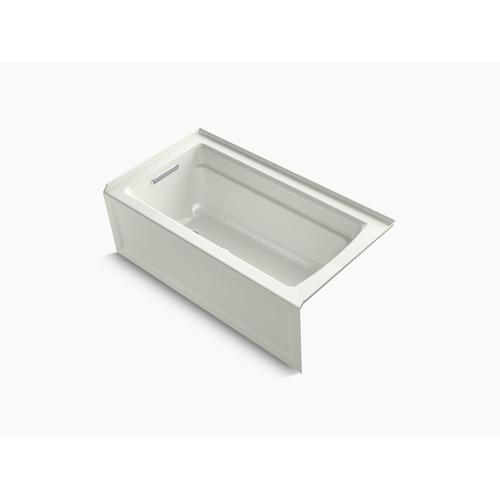 "Dune 60"" X 32"" Alcove Bath With Integral Apron, Integral Flange and Left-hand Drain"