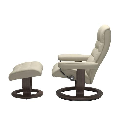 Stressless By Ekornes - Stressless® Opal (M) Classic chair with footstool
