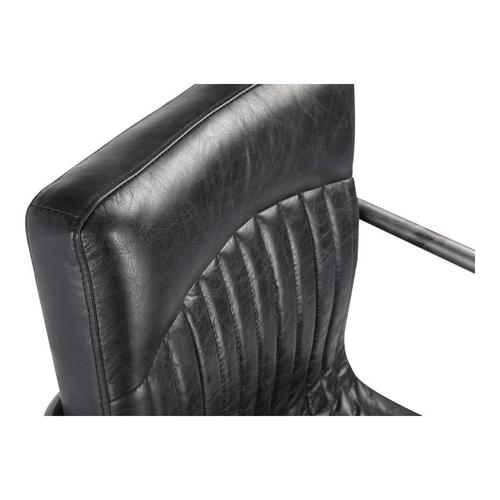 Moe's Home Collection - Ansel Arm Chair Black-m2