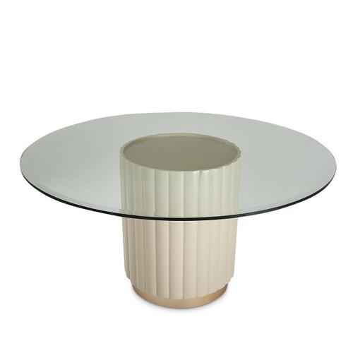 Amini - Round Dining Table (2 Pc)