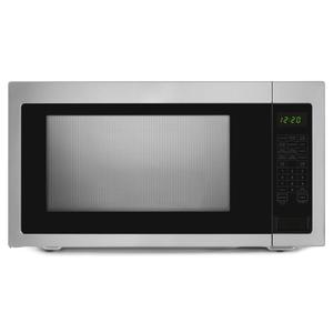 Amana2.2 Cu. Ft. Countertop Microwave with Add :30 Seconds Option Black-on-Stainless