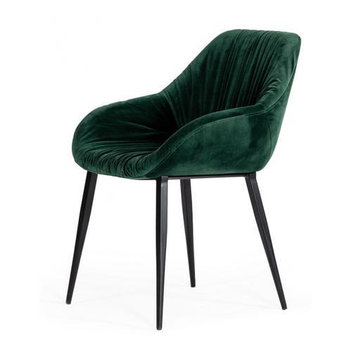 VIG Furniture - Modrest Katrina - Modern Green Fabric Dining Chair