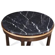 See Details - Charleston Foyer Table with Recessed Stone Top