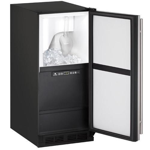 "U-Line - Clr1215 15"" Clear Ice Machine With Stainless Solid Finish, No (115 V/60 Hz Volts /60 Hz Hz)"