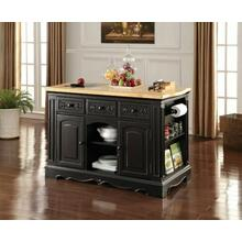 ACME Ariuk Kitchen Cabinet - 72560 - Black