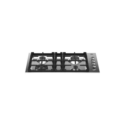 30 Drop-in Gas Cooktop 4 burners Stainless Steel