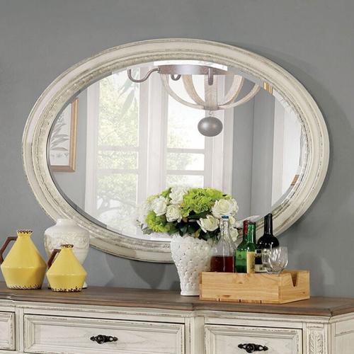 Furniture of America - Arcadia Oval Mirror