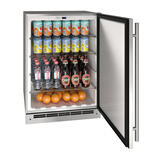 U-LineU-Line 24&quot Refrigerator With Stainless Solid Finish (115 V/60 Hz Volts /60 Hz Hz)