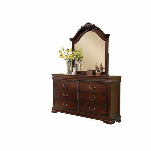 Acme Furniture Inc - ACME Gwyneth Mirror - 21884 - Cherry
