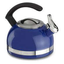2.0-Quart Stove Top Kettle with C Handle Doulton Blue