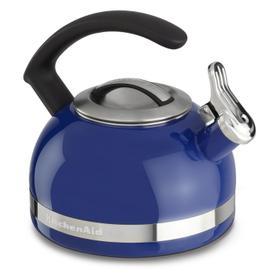 2.0-Quart Stove Top Kettle with C Handle Doulton Blue