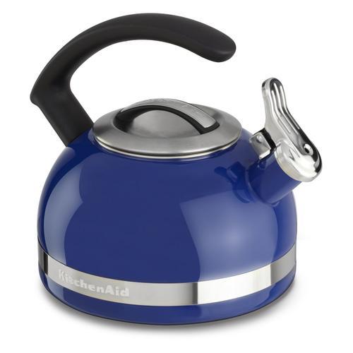 KitchenAid - 2.0-Quart Stove Top Kettle with C Handle Doulton Blue